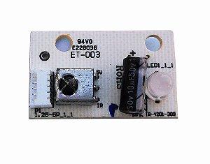Sensor Controle Remoto Tv Cce Stile D32 Mod: Ir-4201-309