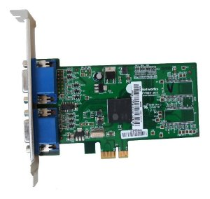 Placa Vídeo Dual Vga Thinetworks Tn750 2 Monitores