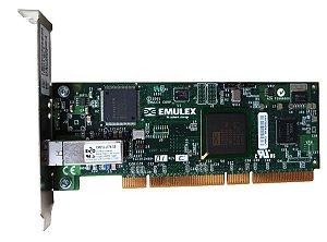 Hba Fibra 2gb Emulex Lp9802 Pci-x  Single Port