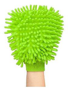 Luva Em Microfibra Limpeza E Polimento - Au309