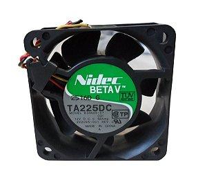 Cooler Ventilador Nidec Ta 225dc 12v - 60 X 60 X 25mm