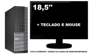Dell Optiplex 7020 Mini Sff I5 4590 8gb 240ssd - Semi Novo