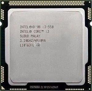 Processador Intel Socket 1156 Core i3 550