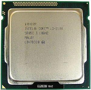 Processador Intel Socket 1155 Core i3 2100