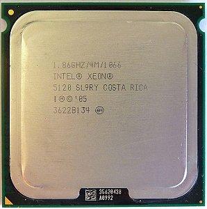 Processador Intel Xeon 5120 SL9RY 1.86GHz Soquete LGA771