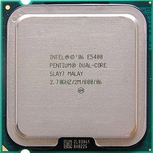 Processador Intel  Dual Core LGA775 E5400