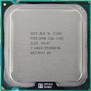 Processador Intel  Dual Core LGA775 E5300