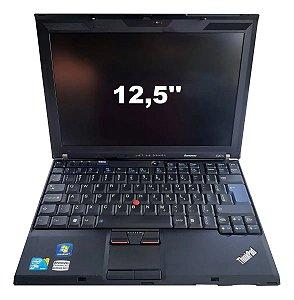 Notebook Lenovo Thinkpad X201 Core I5 500Gb 4gb SEMI NOVO