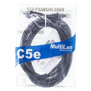 Patch Cord 4 m FURUKAWA CAT 5e