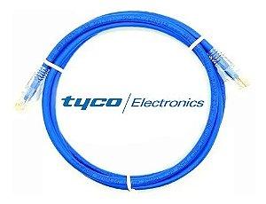 Patch cord  TYCO Cat5e 3m azul