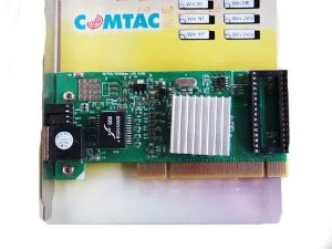 Placa De Rede Pci Gigabit Comtac 10/100/1000 Mbps