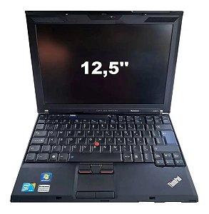 Notebook Lenovo Thinkpad X201 Core I5 120Ssd 4gb Sem Bateria
