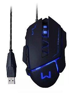 Mouse Gamer Warrior 3200dpi Usb 4 Velocidades - Mo261