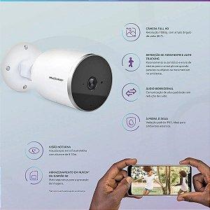Câmera de segurança Multilaser interna e externa SE22 FullHd