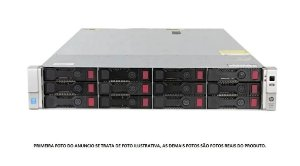 Servidor HP Dl 380 G9 Xeon E5 2680 v3 12 core 256gb 12tb