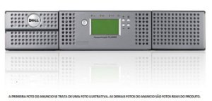 Tape Library Dell Powervault Tl2000 + unidade lto4