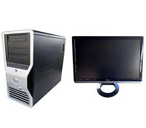 Workstation Dell T7400 2 Xeon QuadCore 16 240 Ssd Monitor 21