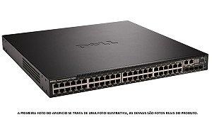 Switch Dell Powerconnect  7048 48P Gigabit + 4 Sfp Fibra 10G
