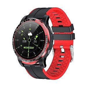Relógio Masculino Esportivo PrettyLittle - Bluetooth Chamada Pressão Arterial 24 horas de Freqüência Cardíaca