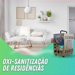 Higienização Oxi-sanitização de Residências