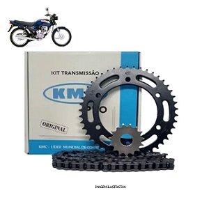 Kit Transmissão Kmc Pro Titan2000/Fan125