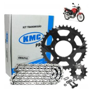 Kit Transmissão Kmc Pro Ybr/Factor125 2009