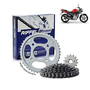 Kit Transmissão Riffel Titanium Fazer150/Factor150