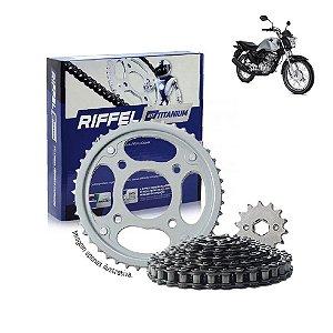 Kit Transmissão Riffel Titanium Titan160/Fan160