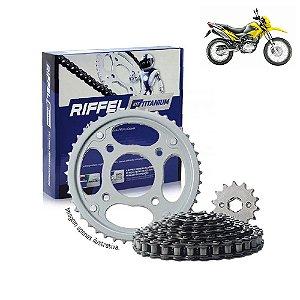 Kit Transmissão Riffel Titanium Bros150
