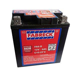 Bateria Fabreck FA6AD 6Ah Bros/Xre/Titan