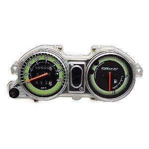 Painel Completo Titan 150 2009 Esd Mix Verde Condor