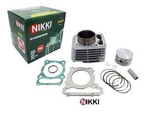 Kit Cilindro Pistão e Anéis Crf230 Nikki