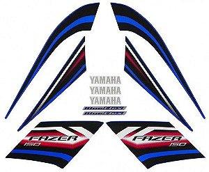 Kit Faixas Adesivos Fazer 150 14 Azul