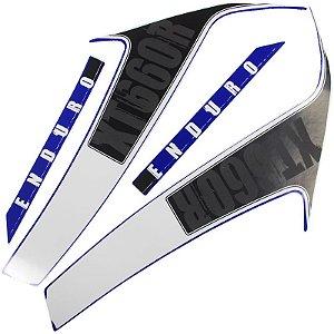 Kit Faixas Adesivos Xt660 10/12 Azul