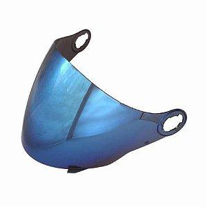 Viseira Iridium Joy23/Liberty 3 2.2mm Azul Polivisor