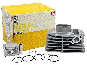 Kit Cilindro Pistão e Anéis Yes125 Metal Leve