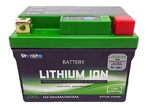 Bateria Íon Lítio Titan 150/160 Bros 150/xre 190 Skyrich