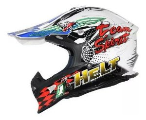 Capacete Helt Cross Mx Bull
