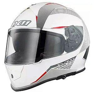 CAPACETE X11 REVO SV C/ OCULOS BRANCO
