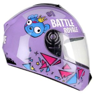 Capacete Fly Fun Game Lilas