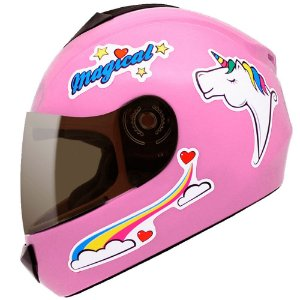 Capacete Fly Fun Magical Rosa