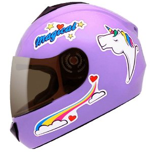 Capacete Fly Fun Magical Lilas