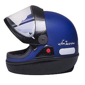 Capacete Taurus San Marino Colors Azul