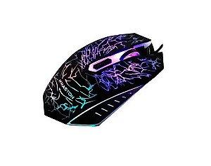 Kit Gamer Teclado Led + Mouse Neon