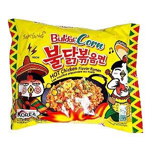 Macarrão Coreano Hot Chicken Buldak MILHO (Muito Picante) - 130g