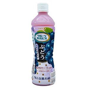 Bebida Japonesa Calpis Uva (Lácteo) - 500mL