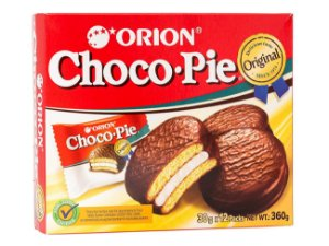 Choco Pie Bolinho de Marshmallow com Chocolate - CAIXA (12 unidades)