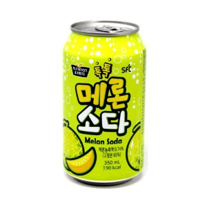 Refrigerante Coreano Melon Soda - Melão 350ml ( Sabor Melona )