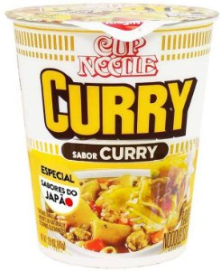 Cup Noodles Sabor Curry - 100g