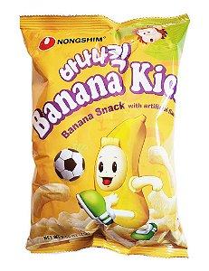 Salgadinho Coreano de Milho Sabor Banana ( Banana Kick ) - 45g